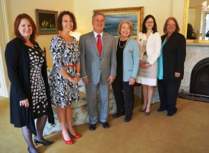 Michelle T Holland, Governor of South Australia and Jana Matthews